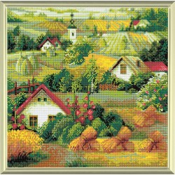 Serbian Landscape diamond mosaic kit by RIOLIS Ref. no.: AM0013