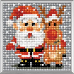 Santa Claus diamond mosaic kit by RIOLIS Ref. no.: AM0018