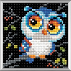 Owl diamond mosaic kit by RIOLIS Ref. no.: AM0017