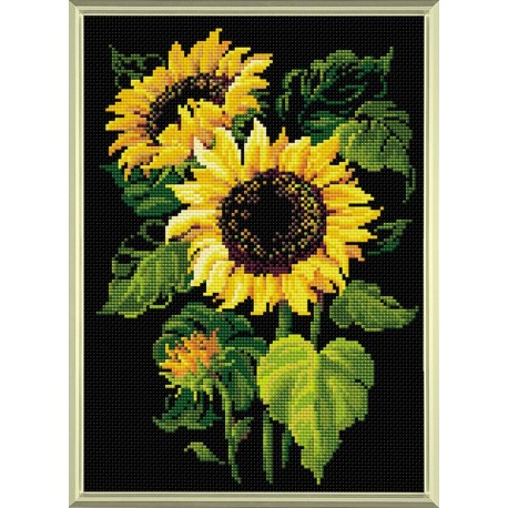 Sunflowers diamond mosaic kit by RIOLIS Ref. no.: AM0006