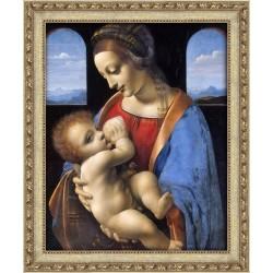 Deimantinis paveikslas Madonna Litta AZ-1527 50_40cm