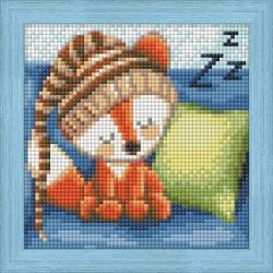 Deimantinis paveikslas Dreaming Fox AZ-1573 15_15cm