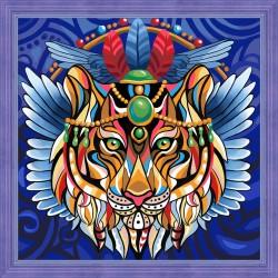 Deimantinis paveikslas Tiger AZ-1593 30_30cm
