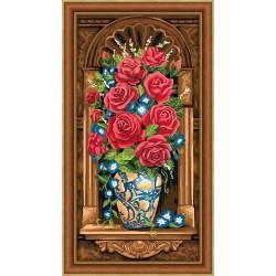 Deimantinis paveikslas Antique Bouquet AZ-1603 30_60cm