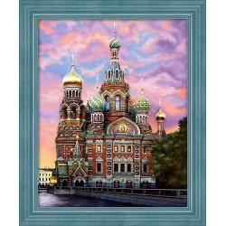 Diamond Painting Kit St.Petersburg AZ-1628 50_40cm