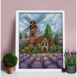 Diamond Painting Kit Old Windmill AZ-1650 40_50cm