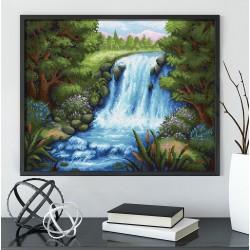 Deimantinis paveikslas Silent Waterfall AZ-1654 50_40cm