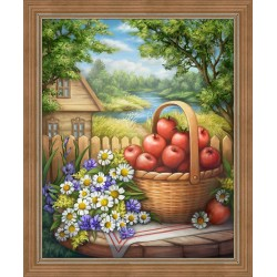 Deimantinis paveikslas Country Still Life AZ-1698 40x50cm