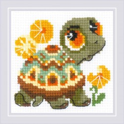 Little Turtle siuvinėjimo rinkinys iš RIOLIS Nr.: 1795