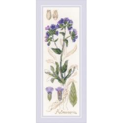 Pulmonaria siuvinėjimo rinkinys iš RIOLIS Nr.: 1797