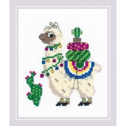 Llama siuvinėjimo rinkinys iš RIOLIS Nr.: 1787