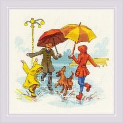 There's No Bad Weather siuvinėjimo rinkinys iš RIOLIS Nr.: 1799