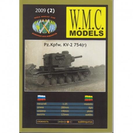 Sunkusis Tankas Pz.Kpfw. KV-2 754(r) (II Pasaulinis Karas)