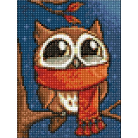 Diamond painting kit WD2363 15x20 cm