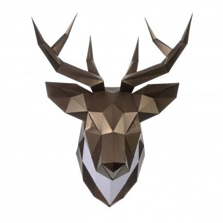 Papercraft Kit Deer PP-1OLP-BRO