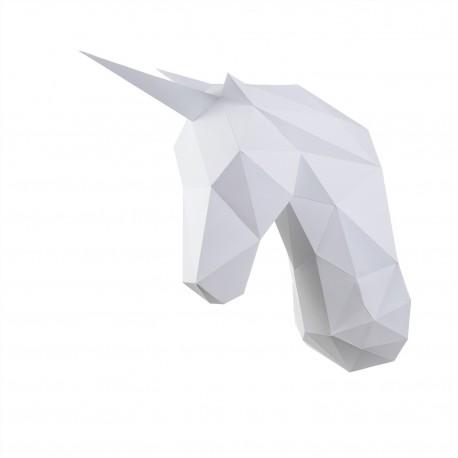 Papercraft Kit Unicorn PP-1EDS-WHT