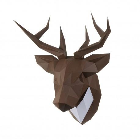 Papercraft Kit Deer PP-1OLP-BRW