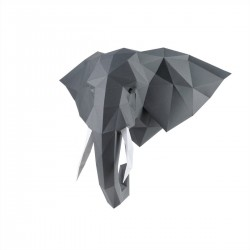 """Popierinės skulptūros rinkinys """"Dramblys"""" PP-1SLV-GRA"""