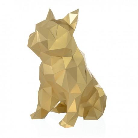 Papercraft Kit Bulldog PP-2BJU-GLD