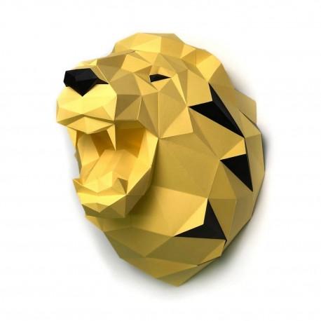 Papercraft Kit Lion Yellow PP-1LVN-SOL