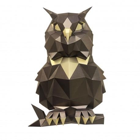 Papercraft Kit Owl Bronze PP-1SOV-2BG