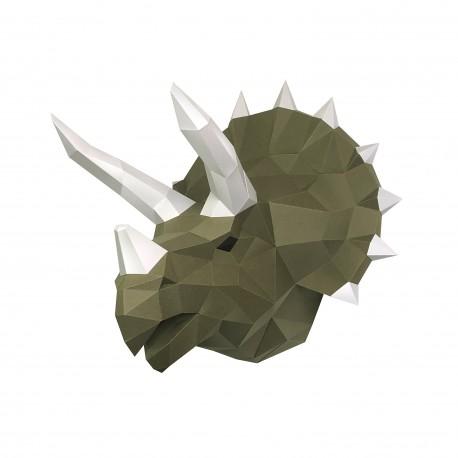 Papercraft Kit Dinosaur Tops Wasabi PP-1TPS-2WS