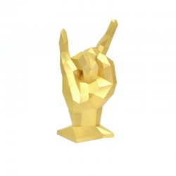 """Popierinės skulptūros rinkinys """"Rock"""" PP-2JKO-GLD"""
