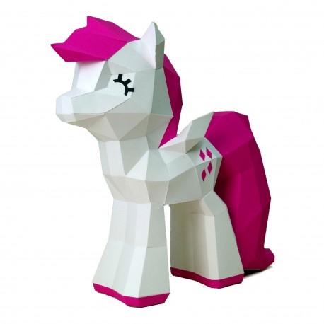 Papercraft Kit Cute Pony PP-2MIP-CRI