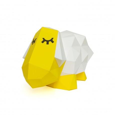 Papercraft Kit Sheep Dolly PP-2SHD-YEL