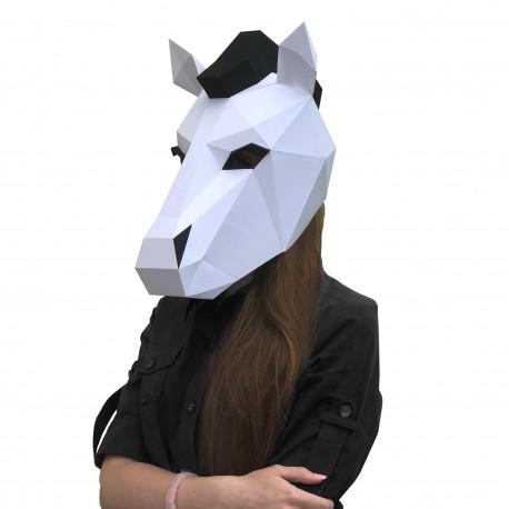 Papercraft Kit Horse Neona Mask PP-3KON-2WB