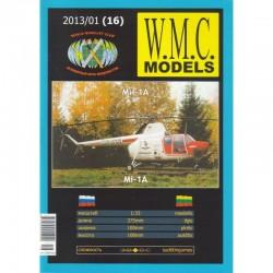 "Popierinis TSRS sraigtasparnio ""Mi - 1A"" modelis"