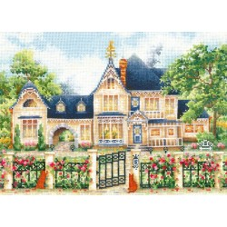 English Manor SANA-05 - Cross Stitch Kit by Andriana