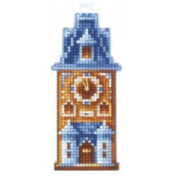 Clock Tower SAND-14 - Cross Stitch Kit by Andriana