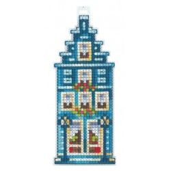 Turquoise House SAND-15 - Cross Stitch Kit by Andriana