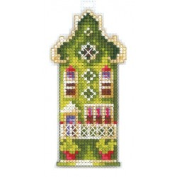 Olive House SAND-16 - Cross Stitch Kit by Andriana