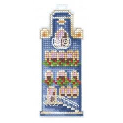 Blue House SAND-18 - Cross Stitch Kit by Andriana