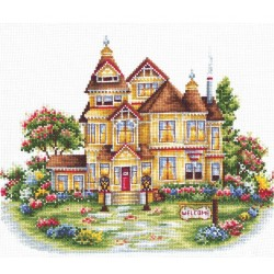 Welcome SAND-19 - Cross Stitch Kit by Andriana
