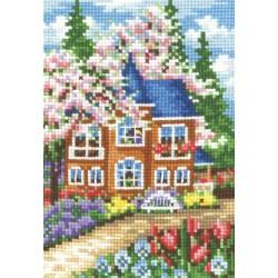 Seasons. Spring SANV-20 - Cross Stitch Kit by Andriana