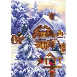 Seasons. Winter SANV-21 - Cross Stitch Kit by Andriana