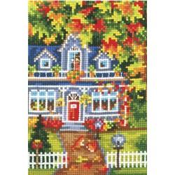 Seasons. Autumn SANV-23 - Cross Stitch Kit by Andriana