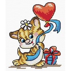 Cross Stitch Kit Time to Love SM-002