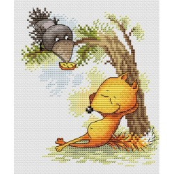 Cross Stitch Kit Relaxing SM-140
