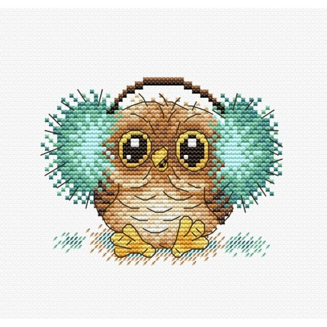 Fluffy Counted Cross Stitch Kit OVEN