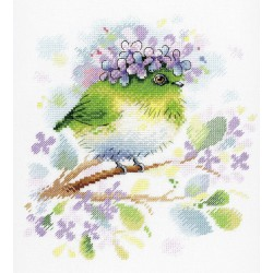 Cross Stitch Kit On the Lilac Branch SA-013