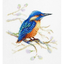 Cross Stitch Kit Feathered Observer SA-028