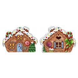 Gingerbread House SR-458 - Siuvinėjimo rinkinys
