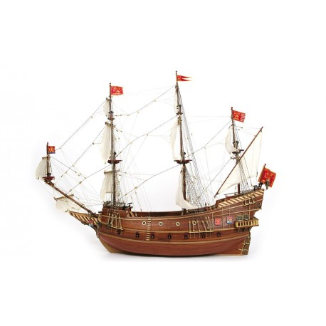 """San Marcos"""" - brand new, finely detailed model ship kit by OcCre"""