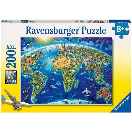 Puzzle 200 World Map