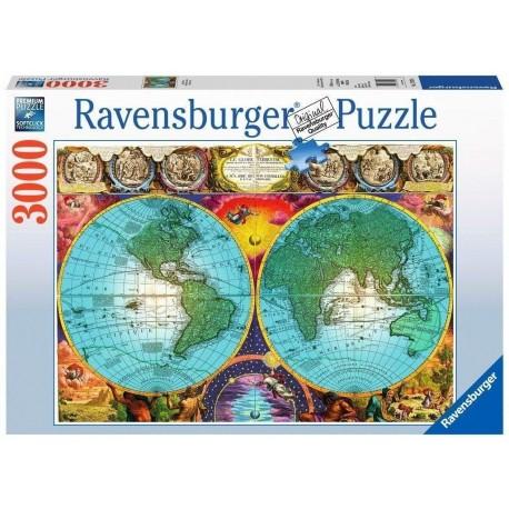 Puzzle 3000 Antique Map