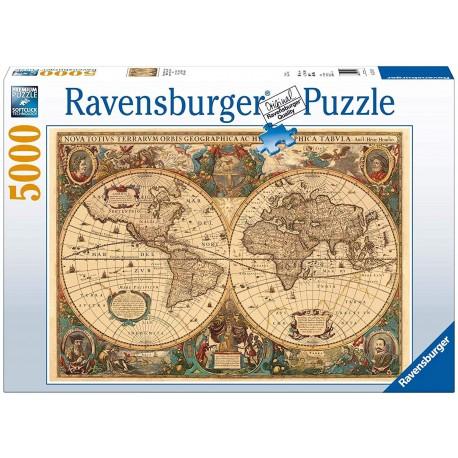 Puzzle 5000 Antique World Map